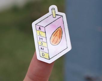 Almond Milk Sticker