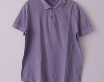 Boss Orange // Hugo Boss // polo // lavender // size L