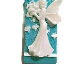 Angel / Fairy Soap! Decorative Soap Natural Homemade Choose Variety: SCENT, COLOR, and TYPE of Soap!