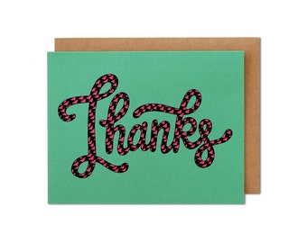 Thank You Card, Thank You Cards, Friend Card