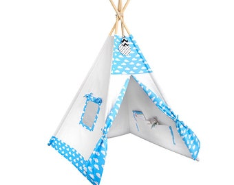 Tipi - Kids Play Tent Teepee - Up, Up and Away