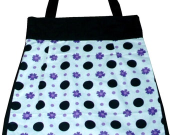 Cotton tote / Shoulder Bag / Floral Tote / Lined