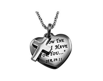 """Sweetheart Necklace """"I Know"""""""