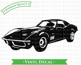 69 Chevy Corvette Stingray VINYL DECAL