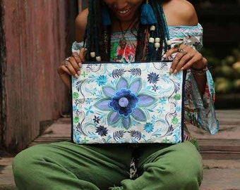 Blue Laptop Bag, Messenger Bag, Laptop Case, 13 inch laptop bag, Crossbody Bag, Laptop Tote, 13 laptop bag, Laptop Bag Women, Laptop Handbag