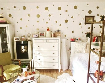 Confetti Dots~ Polka Dot Wall Decals~Circle Wall Decals~Polka Dot Wall Stickers~Confetti Wall Stickers~ Nursery Wall Stickers~Wall Stickers