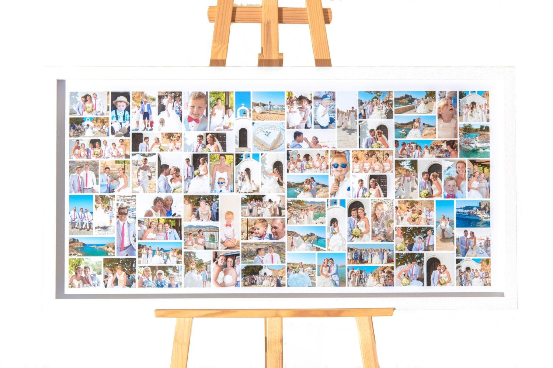 Marco Collage foto grande marco exhibición de fotografía