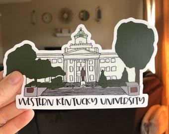 Western Kentucky University stickers