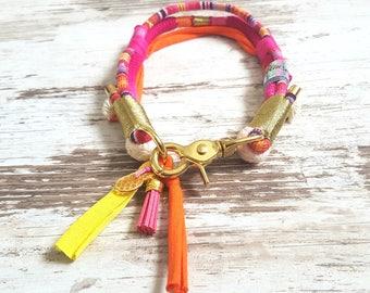 Necklace * Vagabond * Pink Flamingo