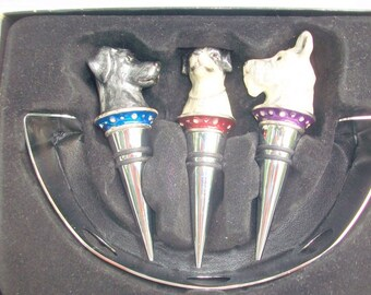 Set of 3 Decanter Stoppers
