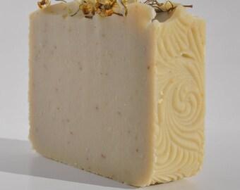Chamomile & Oatmeal Handmade Natural Bastille Soap with Lavender