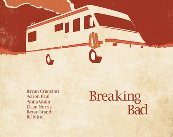 Breaking Bad Poster 12x18 inches