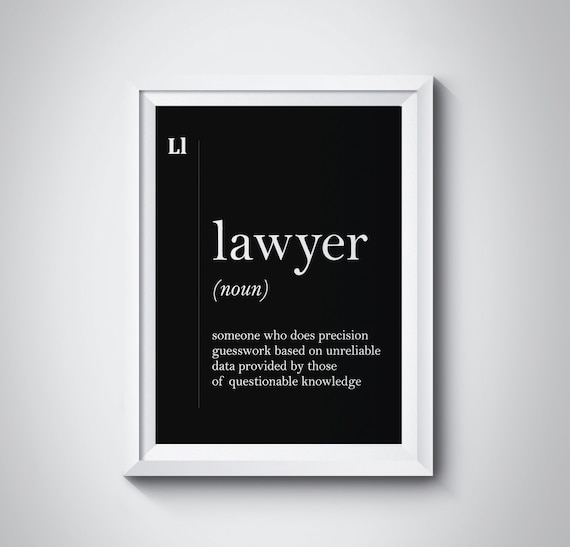 Lawyer definition lawyer gift funny lawyer poster lawyer solutioingenieria Image collections