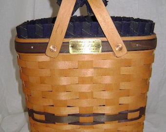Longaberger SIGNED Collector Club Membership Basket