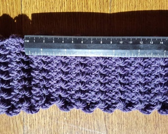Merino wool ear warmer headband