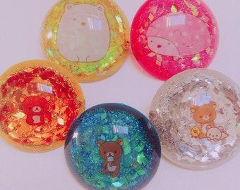 Pins, Badges, Brooches / Resin /Kawaii