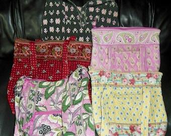 Vera Bradley Craft Repair LOT Purse Handbag Tote Hipster Crossbody Bag Retired Patterns
