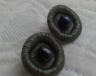 """""""Art déco"""" earrings."""