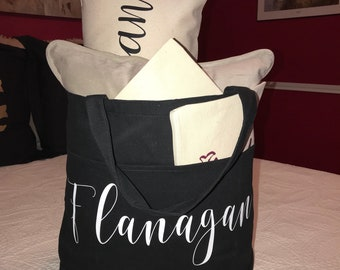 Black or Beige Tote