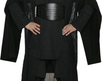 Star Wars Darth Maul Black Sith Costume with Replica Darth Maul Robe and Belt