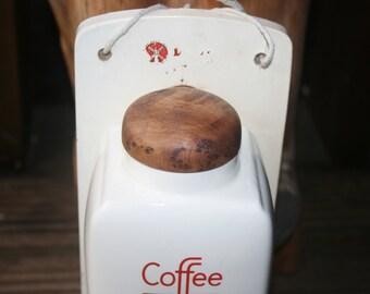 Vintage De Ve Wall Hung Coffee Grinder