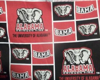 "University Of Alabama Print Fabric - 1 Yard and 2"""