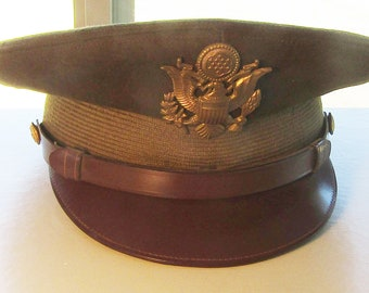 WWII Army Officers Dress Hat