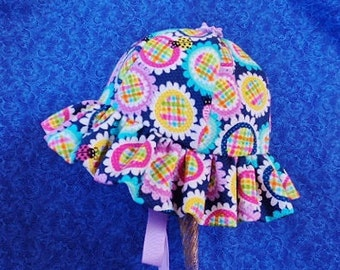 Colorful Baby Sunhat with Ties