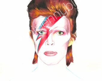 REDUCED PRICE • Bowie 8x10 Print