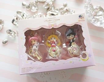 Limited Stock 3 pcs  Sailor Moon Charm Twinkle Dolly Special Set AZ523  (((LAST)))
