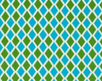 Happy Land in Madison Blue designed by Jennifer Paganelli for Free Spirit Fabrics - 4.25 Yards - Great Price