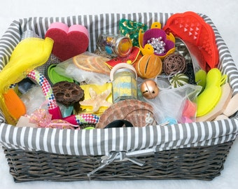 Explore and Learn Baby Treasure Basket: Luxury