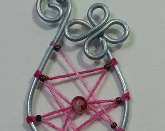 """Collection """"Steel"""" - basket of good luck pendant"""