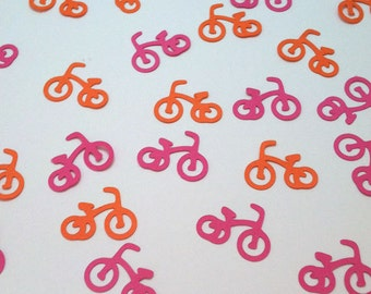 Tricycle Confetti, 3 wheels, Trike Third Birthday Party Decor, Baby Shower Table Sprinkles, Bicycle Die Cut Party Decor, Color Options