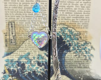 Mermaid Bookish Love-Bookish-Booklover-bookworm mermaid Bookish love-bookmarks for little mermaids-the sea witch-