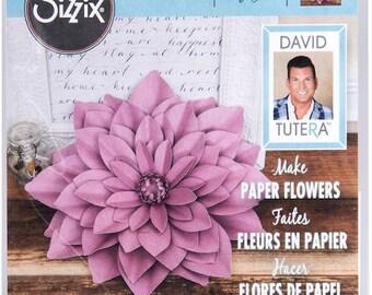 Sizzix Large Dahlia Framelits By David Tutera 562395 Scrapbooking & Paper Craft Supplies
