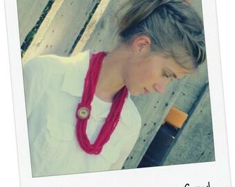 """Crochet PATTERN - Adult Summer Loopy Cowl """"Pattern"""""""