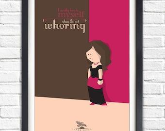 Firefly - Serenity - Inara Serra - Morena Baccarin - 19x13 Poster