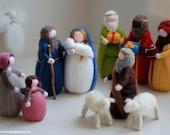 Nativity, Magi, family sh...