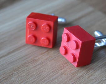LEGO wedding geek cuff links-