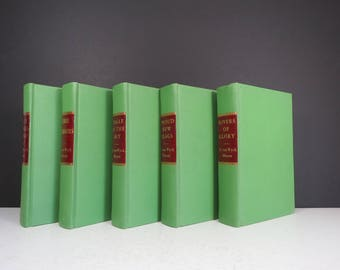 F. van Wyck Mason Books Set // Vintage Set of Autographed Novels Signed Inscribed Books 1940's 1950's Some First Editions Decorative
