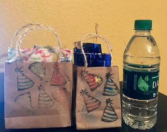 Two Party Hat Gift Bags