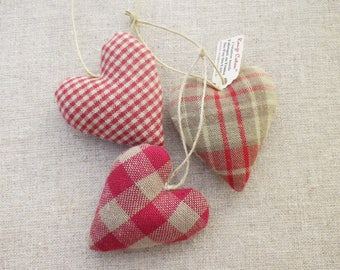 DIY Kit for making 3 hearts tiles