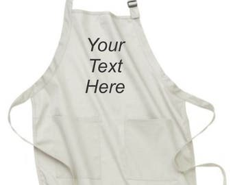 Custom Aprons, Apron, Aprons for Women, Personalized Aprons, Aprons for Men, Aprons with Pockets, Christmas Gifts, Personalized Gifts