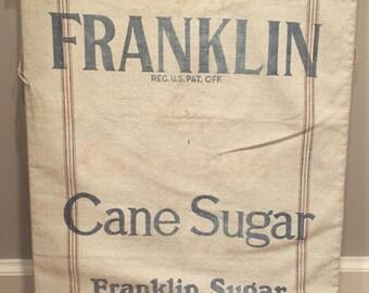 Antique Sugar Sack