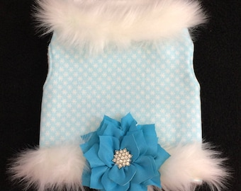 Serene Snow Couture Dog Harness Vest by Doogie Couture
