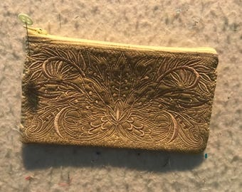 Embroidered Wallet or bag