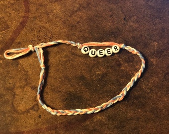 Queer (Handmade Bracelet)