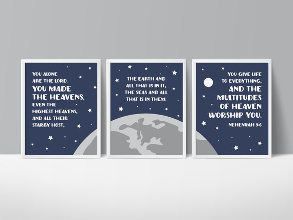 Outer Space Nursery Star Printable Art Space Art Prints