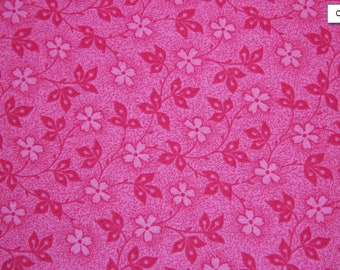 Hot Pink Nifty Pink Cotton Fabric Fabric Store low price cotton fabric free shipping available  Cotton fabric by the yard - SHIPS FAST